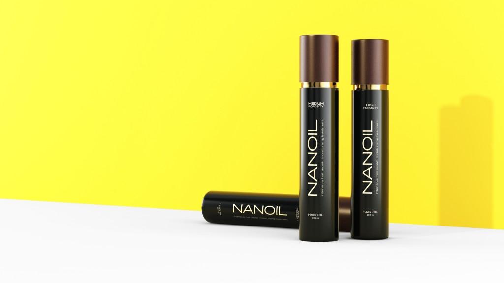 Nanoil - a star among hair oils