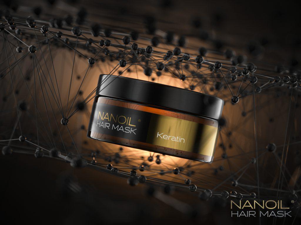 nanoil hair mask with keratin