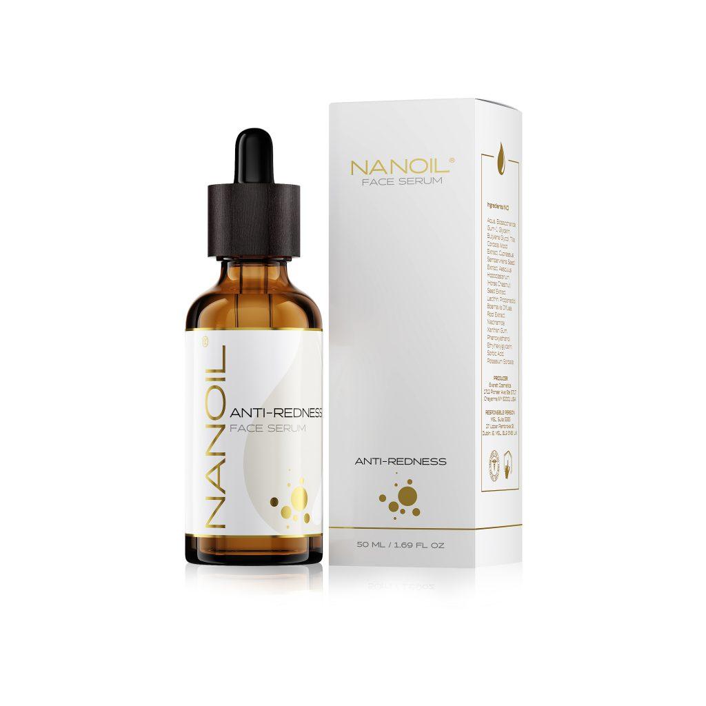 top face serum for redness Nanoil