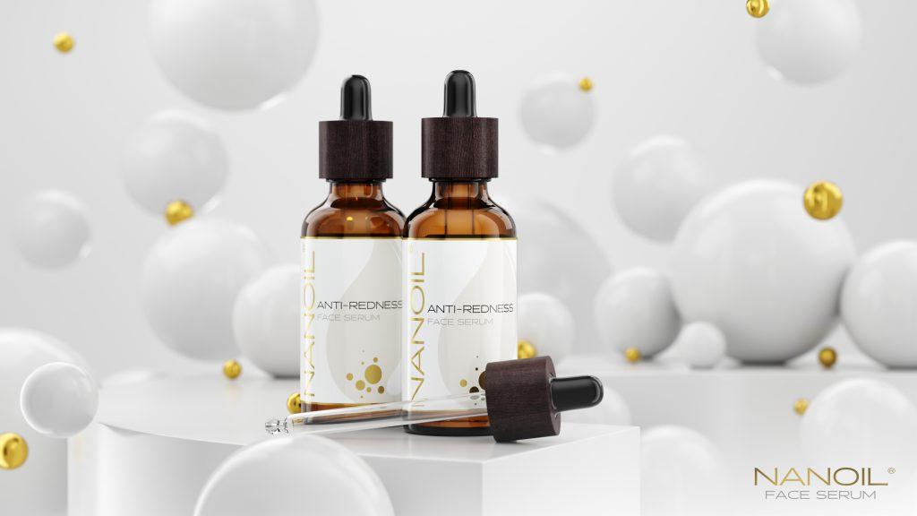Nanoil soothing face serum for redness Nanoil